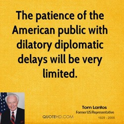 The patience of the 