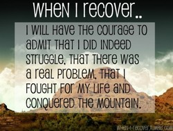 WHCN I recover.. 