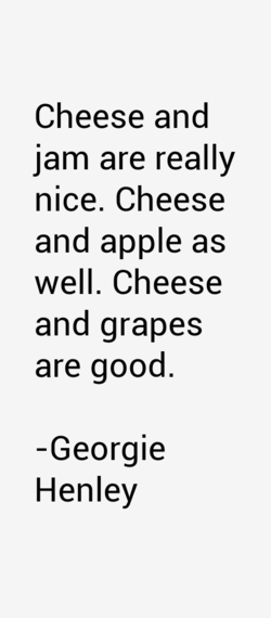 Cheese and 