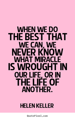 WHEN WE DO 