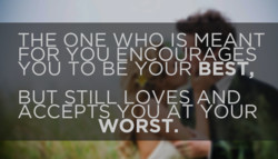 THE ONE WHO IS MEANT 