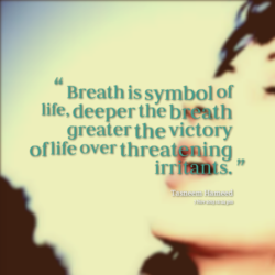 Breath is symbol of