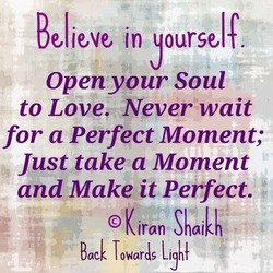 Believe in ourse 