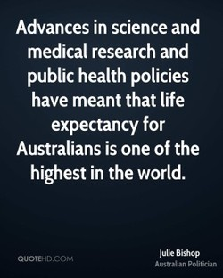 Advances in science and 