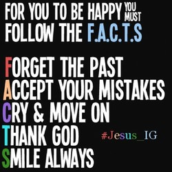 FOR YOU TO BE 