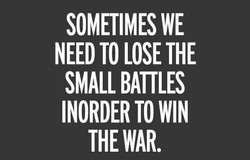 SOMETIMES WE 