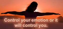 Control your emotion or it 