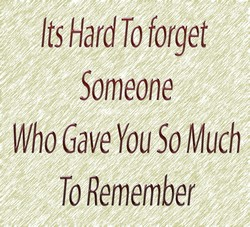 lsHar Toforget 