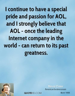 I continue to have a special 