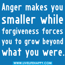 Anger makes you 
