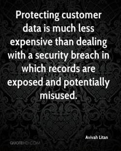 Protecting customer 