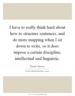 I have to really think hard about 