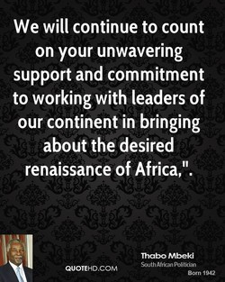 We will continue to count