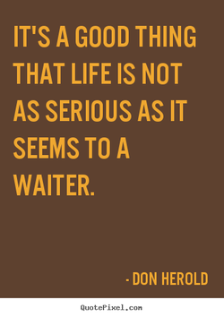 IT'S A GOOD THING 