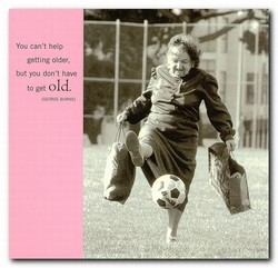You can't help 