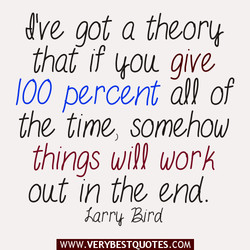 got a theorit 