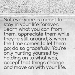 Not everyone is meant to 