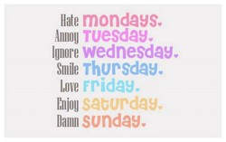Hate mondayse 