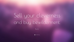 Sell your cleverness