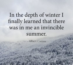 In the depth of winter I 