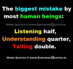 The biggest mistake by 
