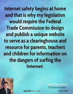 Internet safety begins at home 