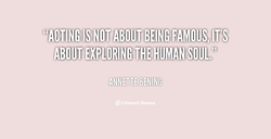 ISNOT ABOUT BEING FAMOUS, IT'Si 