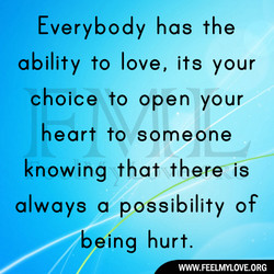 Everybody has the 