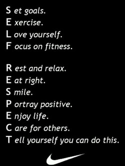 S et goals. 