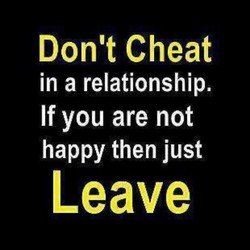 Dont Cheat 