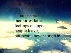Time passes* — 