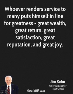 Whoever renders service to 
