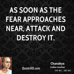AS SOON AS THE 