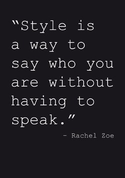'Style is 