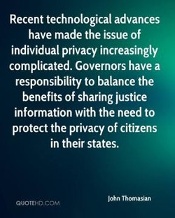 Recent technological advances 