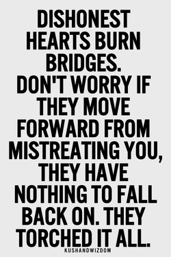 DISHONEST