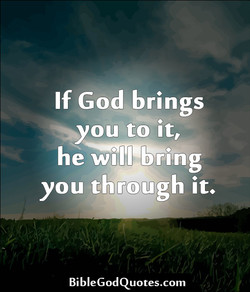 If God brings 