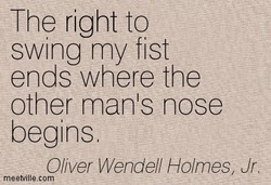The right to 