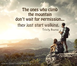 The ones who climb 
