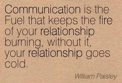 Communication is the 