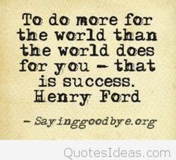 To do more for 