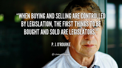 BUYING AND SELLING ARE CONTROLLED 