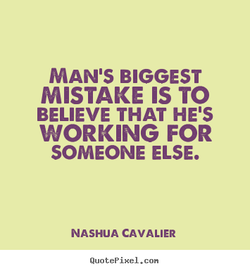 MAN'S BIGGEST 