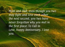 Mem andOad;-even though you two 