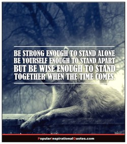 TO STAND 