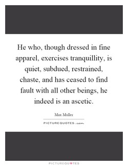 He who, though dressed in fine 