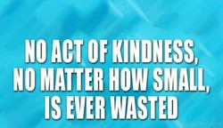 NO ACT OF KINDNESS, 