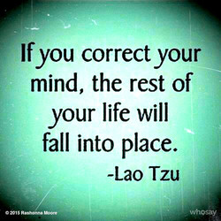 If you correct your 