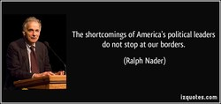 The shortcomings of America's political leaders 
