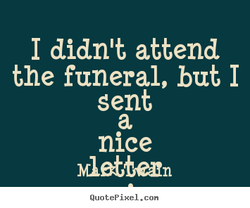 I didn't attend 
